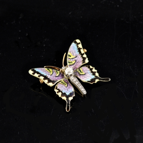 Miniature Butterfly brooch