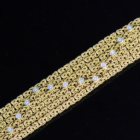 Large Bismarck link bracelet
