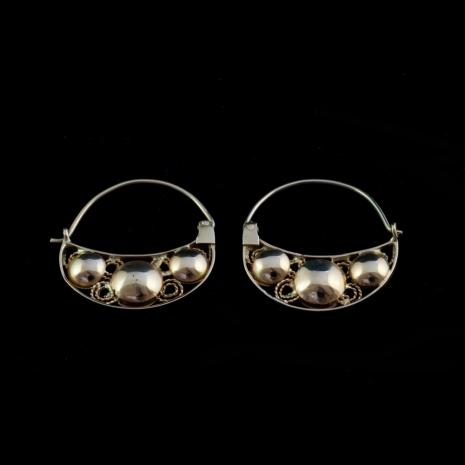 Antique Dutch Earrings, Volendam