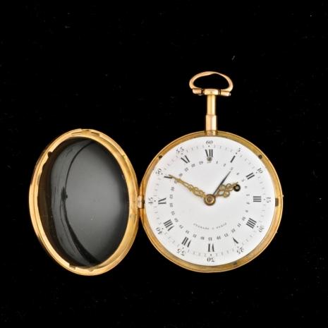 Calender pocket watch