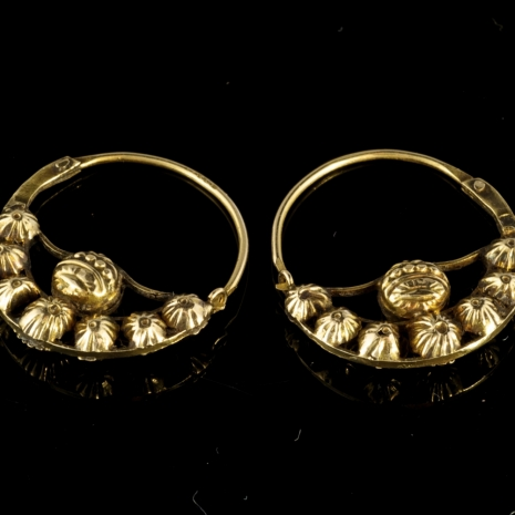 Antique Volendam Earrings