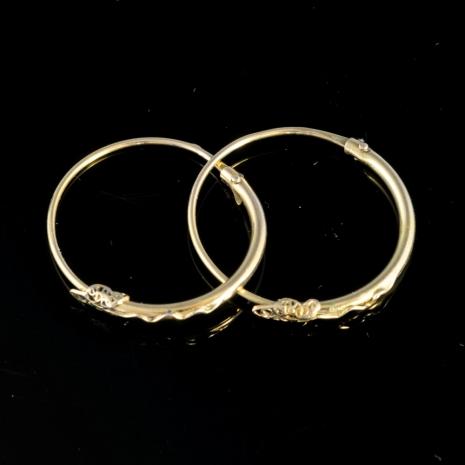 Snake head earrings