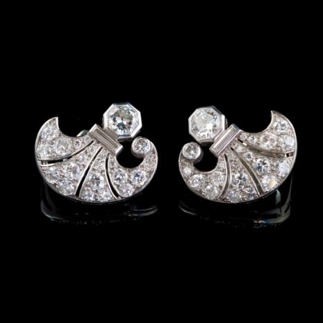 Antique Earrings, Art-Deco